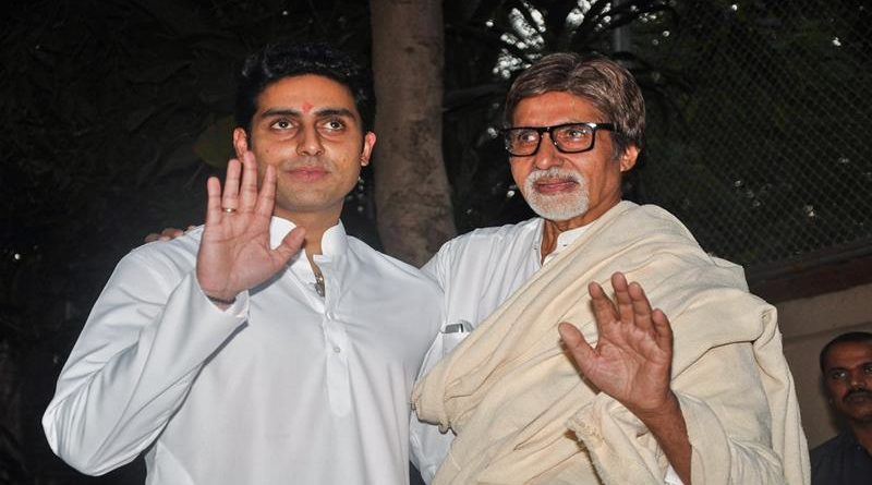 Amitabh Bachchan and Abhishek