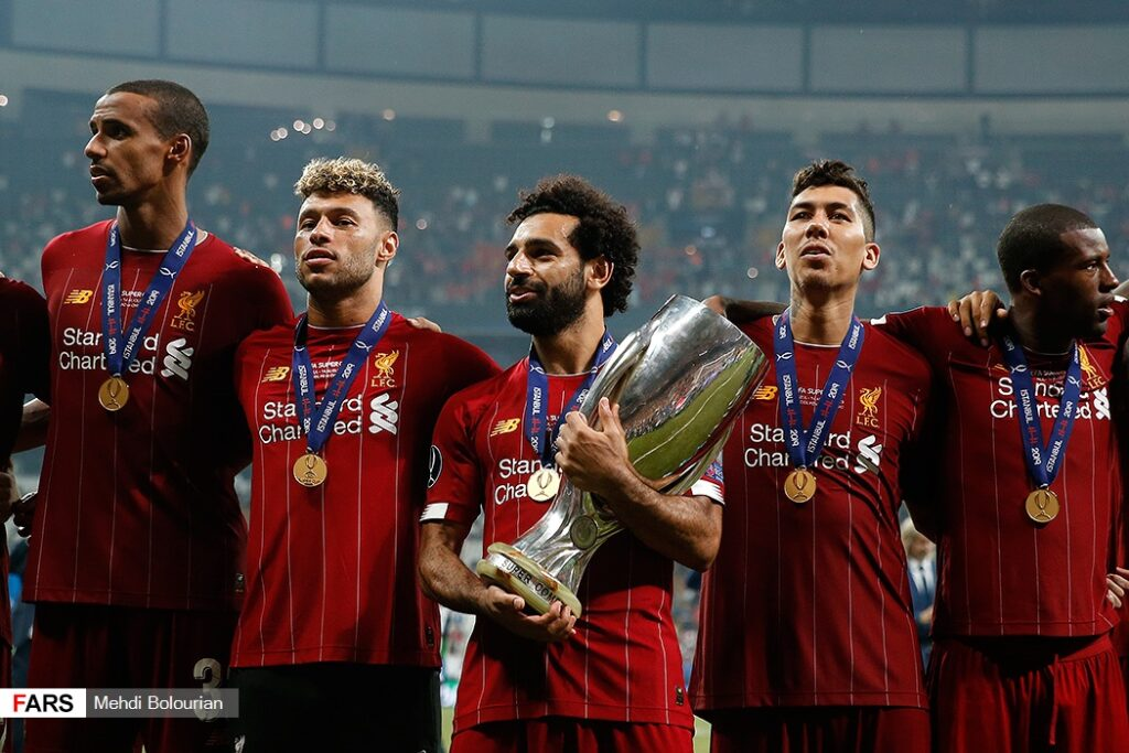 Liverpool Super cup win
