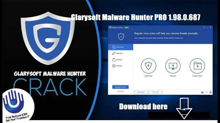 Glarysoft malware hunter free license